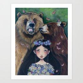 Honorary Bear Art Print