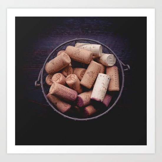 All Corked Up Art Print