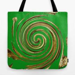 Green Eagle Tote Bag