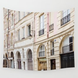 Left Bank Pink on Rue Saint-Jacques Wall Tapestry