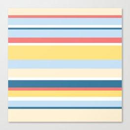 Rushcutters Bay Stripe Canvas Print