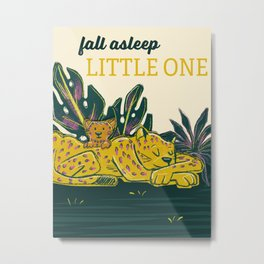 Fall Asleep Little One Metal Print