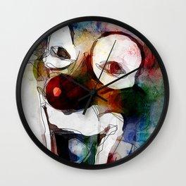 Circus Clown Wall Clock