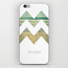 Life's A Beach iPhone Skin