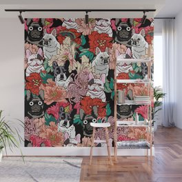 Because French Bulldogs Wall Mural