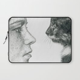 Observations Of A Cat Laptop Sleeve