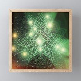 Geometry Dreaming Framed Mini Art Print