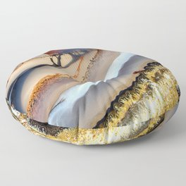 Agate Abstract 1733 Floor Pillow