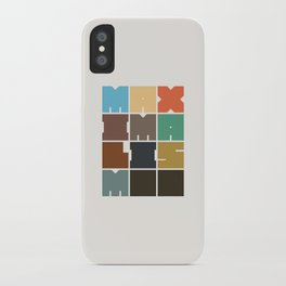 MAXIMALISM.. (Colors) iPhone Case