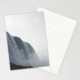From below where all the water falls, Niagara 01 Stationery Cards