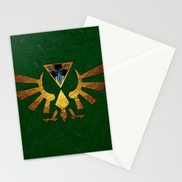 Tri Force of Zelda Stationery Cards
