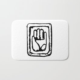 JoJo Hand Emblem Bath Mat