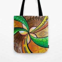 Abstract Pua Tote Bag