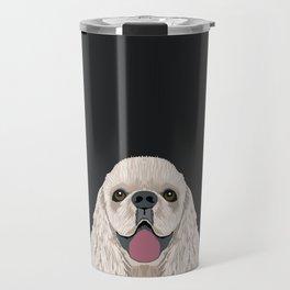 Harper - Cocker Spaniel phone case gifts for dog people dog lovers presents Travel Mug