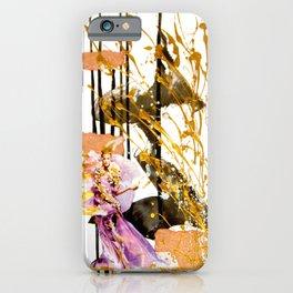 Goldengirl iPhone Case