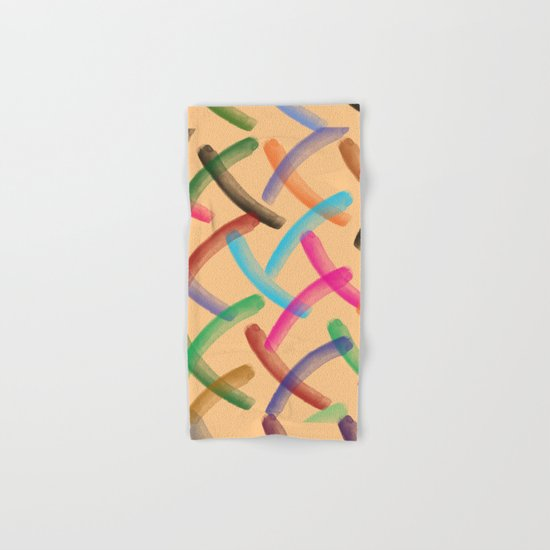 Colourful patterns  Hand & Bath Towel