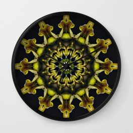 Orchid Spin Wall Clock
