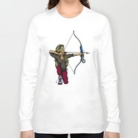 archer Long Sleeve T-shirts featuring Archer by Natalie Easton