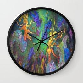 HESTIA & The MERMAIDS (FULL DESIGN) Wall Clock