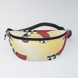 Feather Flag Fanny Pack