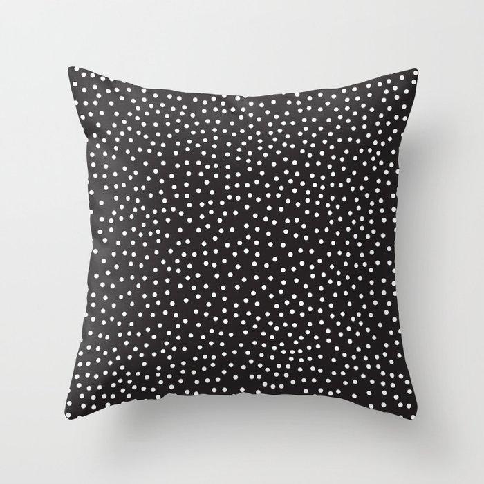 Dots Throw Pillow by priscilaperess