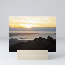 San Francisco Bay Area Mini Art Print