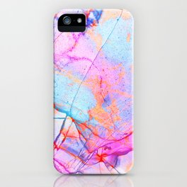 Graffiti Candy Marble Pattern iPhone Case