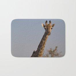 Giraffe and Oxpecker Bath Mat