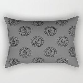 Raven Chant Design monogram Rectangular Pillow