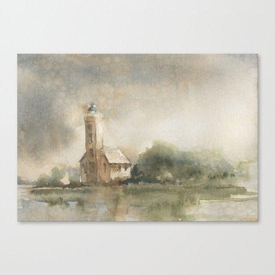 Grand Island Guardian Canvas Print