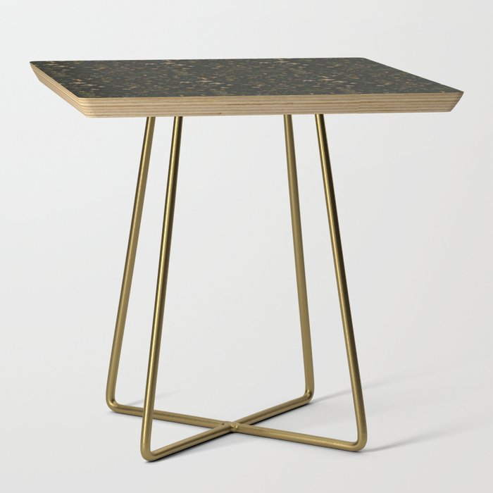 Old World Florals Side Table