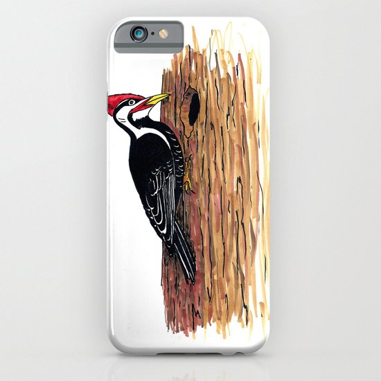 Pileated Woodpecker iPhone & iPod Case