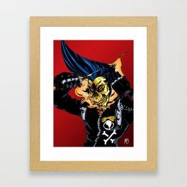 Hot As Hell Framed Art Print