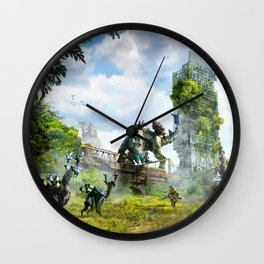 Manchester [Horizon Zero Dawn] Wall Clock