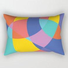 Geometric Beach Ball 1 Rectangular Pillow