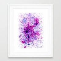 splatter Framed Art Prints featuring Splatter by Behax