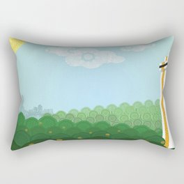 Gem of the Hills Rectangular Pillow