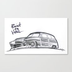 Built to Haul Canvas Print