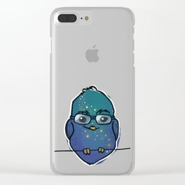 Starry Birb Clear iPhone Case