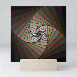 Fibonacci Spin, 2140d Mini Art Print