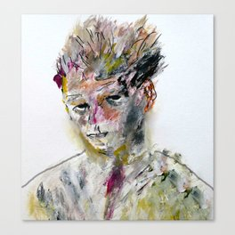 well-known painter Canvas Print