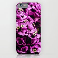 Bougainvillea Pattern Slim Case iPhone 6s