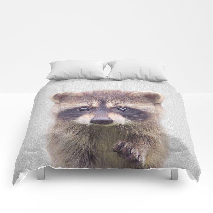 Raccoon - Colorful Comforters
