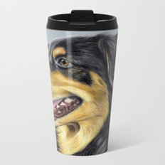 Dog Portrait 01 Metal Travel Mug