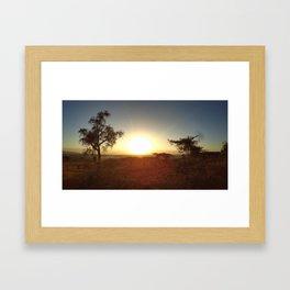 One Kenyan Morning Framed Art Print