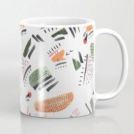 Brushstrokes of abstract nature Coffee Mug