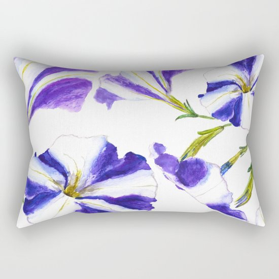 petunia Rectangular Pillow