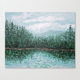 Trillium Lake, Oregon Canvas Print