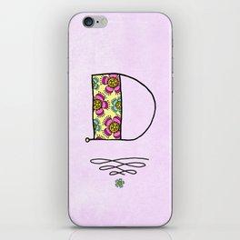 D iPhone Skin