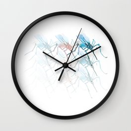 Mosquitoes. Vibrancy. Wall Clock